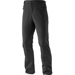 Salomon Nova Softshell Pant M black 351786 pánské běžkařské softshellové kalhoty