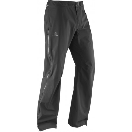 Salomon Mauka Pant GTX M black 369076 pánské nepromokavé kalhoty Gore-Tex Paclite (1)