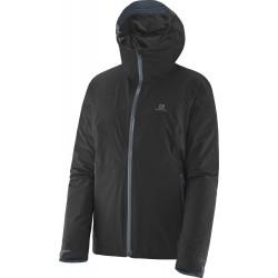 Salomon Mauka Jacket GTX W black 363084 dámská nepromokavá bunda Gore-Tex Paclite