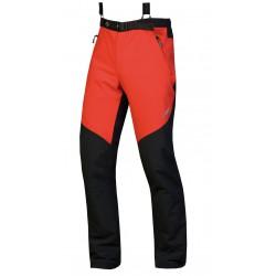 Direct Alpine Trek red pánské softshellové kalhoty Soft Shell 4way Tex