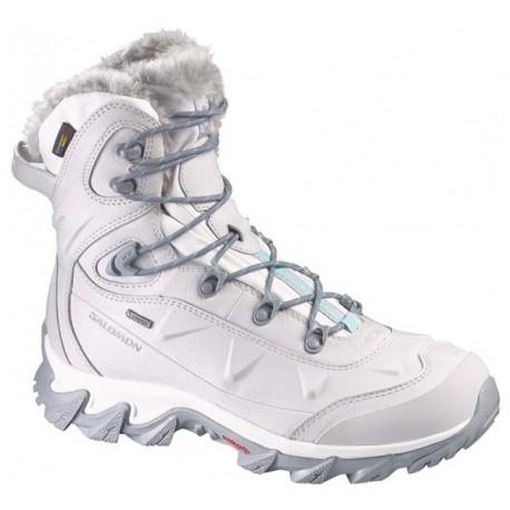 Salomon Nytro GTX W steel grey 366747 dámské zimní nepromokavé boty