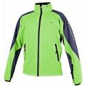 Alpisport Spirit zelená/šedá pánská softshellová bunda Rivertex Softshell