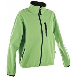 Alpisport Alma zelená/černá dětská softshellová bunda Rivertex Softshell