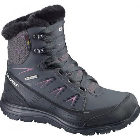 Salomon Kainä Mid CS WP W cane 366805 dámské zimní nepromokavé boty