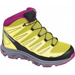 Salomon Synapse Mid CSWP J mimosa yellow/m. purple 356914 dětské nepromokavé trekové boty