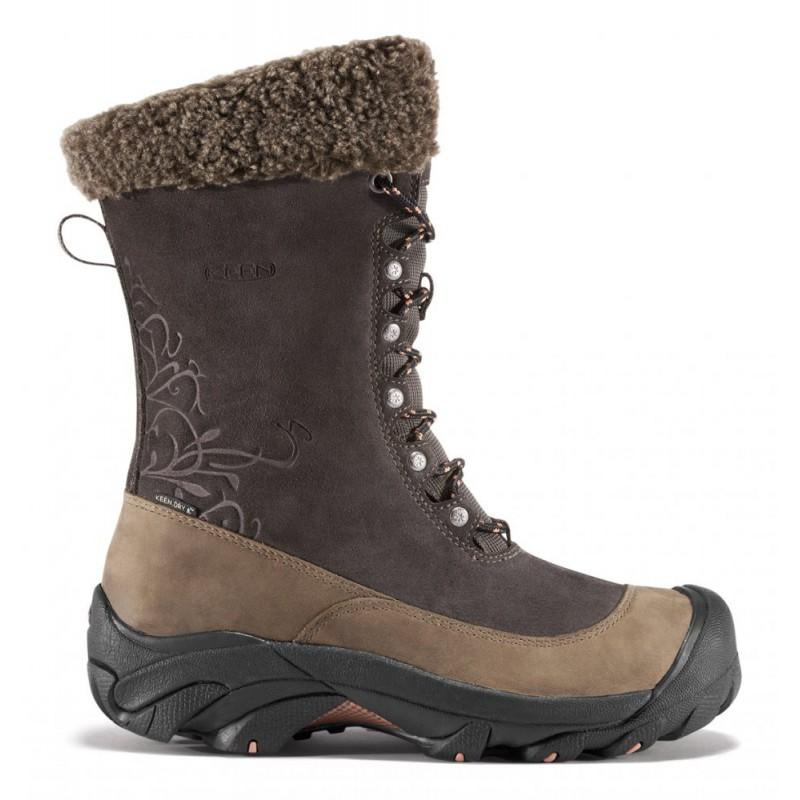 fbaec1ebed1 ... Keen Hoodoo II W black olive arabesque dámské zimní nepromokavé boty (2)  ...