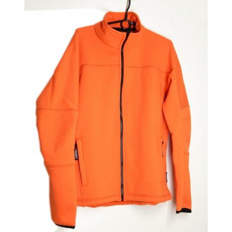 Alpisport Spectrum Man oranžová pánská fleecová bunda Polartec Thermal Pro