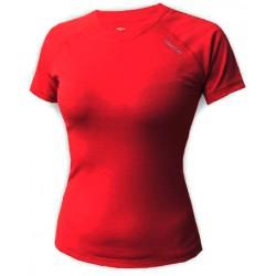 Jitex BoCo Ibiza 802 TSS tmavě červená dámské triko krátký rukáv Merino vlna