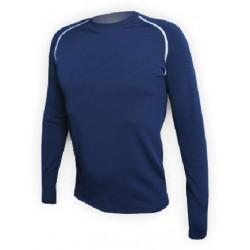 Jitex BoCo Iles 902 TSS tmavě modrá/bílá pánské triko dlouhý rukáv (1)