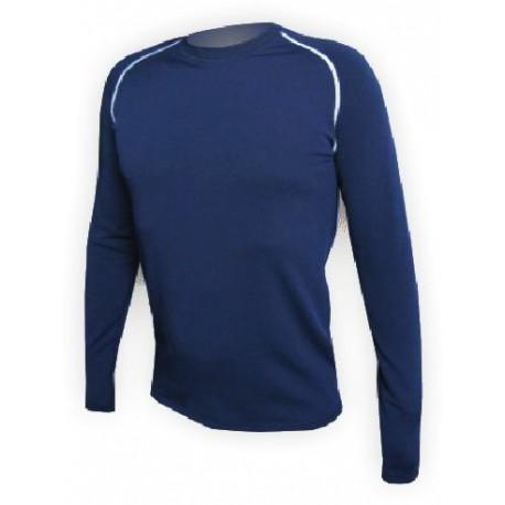 Jitex BoCo Iles 902 TSS tmavě modrá/bílá pánské triko dlouhý rukáv