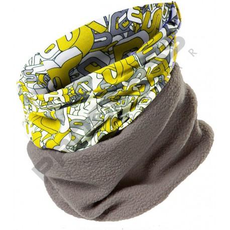 Progress Winter Tube žlutá multifunkční šátek