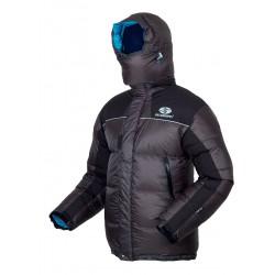 Sir Joseph 8000 II Jacket tmavě šedá unisex nepromokavá péřová bunda Exel Dry® Light 100