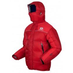 Sir Joseph 8000 II Jacket červená unisex nepromokavá péřová bunda Exel Dry® Light 100