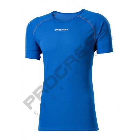 Progress Dry Sense DS NKR modrá/šedá pánské triko krátký rukáv