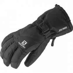 Salomon Odyssey GTX Jr black 367189 dětské lyžařské rukavice