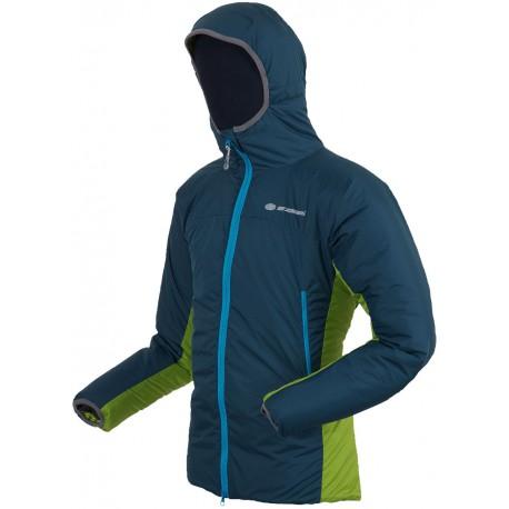 Sir Joseph Fjord modrá/zelená pánská zimní bunda Primaloft Sport