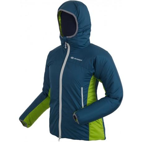 Sir Joseph Rondane modrá/zelená dámská zimní bunda Primaloft Sport