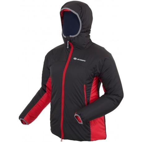 Sir Joseph Rondane černá/červená dámská zimní bunda Primaloft Sport