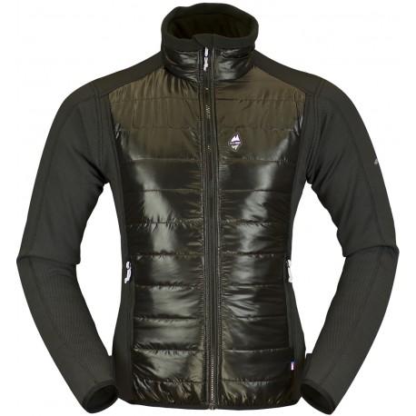 High Point Flow Jacket black pánská větrudolná bunda částečně zateplená Climashield Apex