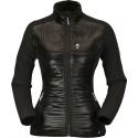 High Point Flow Lady Jacket black dámská větrudolná bunda částečně zateplená Climashield