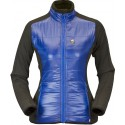 High Point Flow Lady Jacket blue dámská větrudolná bunda částečně zateplená Climashield