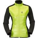 High Point Flow Lady Jacket sunny green dámská větrudolná bunda částečně zateplená