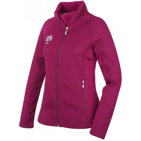 Husky Ralen fialová dámská fleecová mikina Clima Fleece