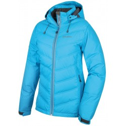 Husky Naral modrá dámská zimní péřová bunda HuskyTech 5000