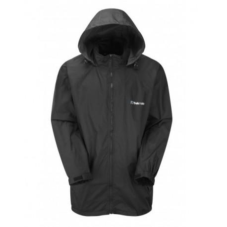 Trekmates Waterproof Wind Jacket černá unisex vodědolná větrovka