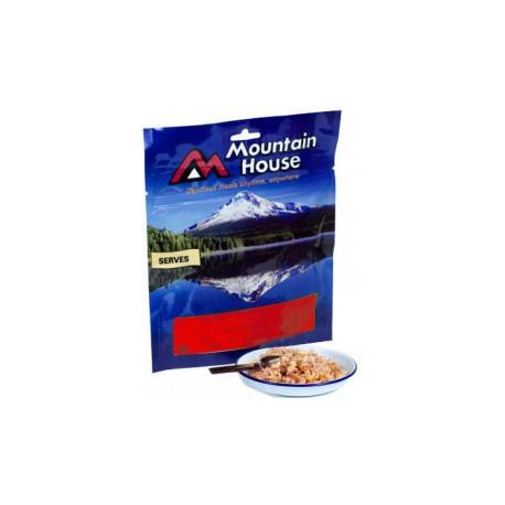 Mountain House Míchaná vajíčka se šunkou a brambory 2 porce expediční strava