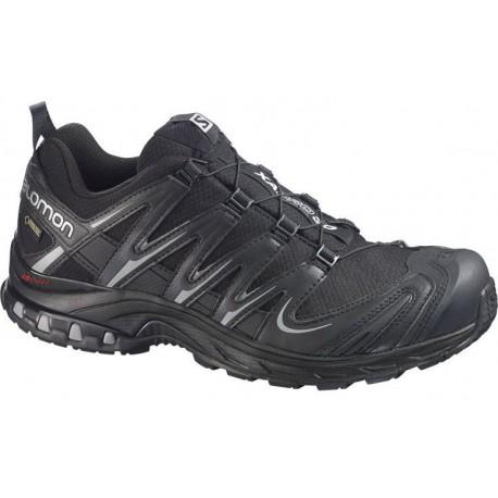 Salomon XA Pro 3D GTX black/pewter 366786 pánské nepromokavé běžecké boty