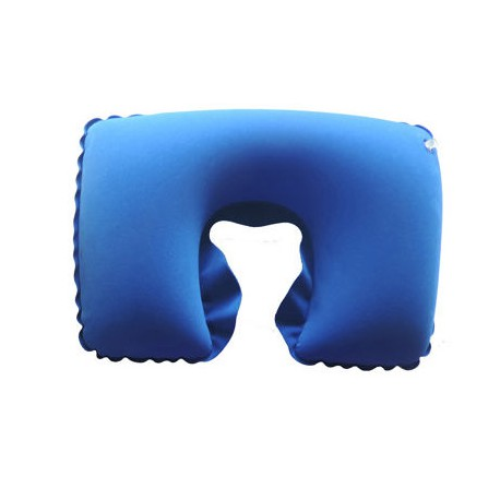 Nafukovací cestovní polštářek modrá - dárek k nákupu nad 3000 Kč/111 Eur