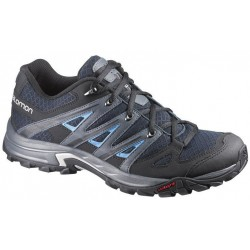 Salomon Eskape Aero deep blue/grey denim 370740 pánské nízké prodyšné boty