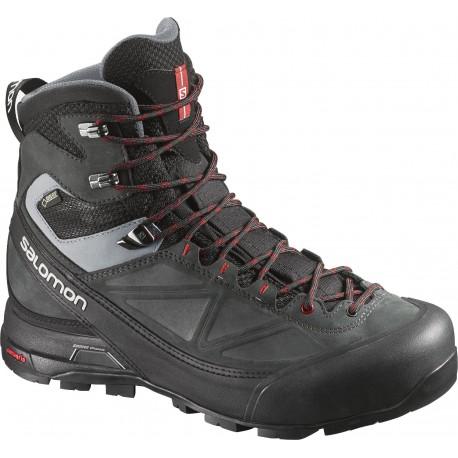 Salomon X Alp MTN GTX black/asphalt 373283 pánské nepromokavé trekové boty Cordura