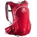 Salomon Agile 2 12 Set bright red/white 373752 běžecký batoh + vodní vak
