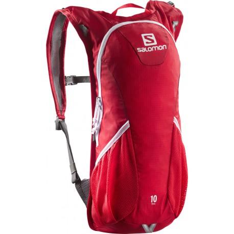 Salomon Trail 10 bright red/white 371708 běžecký batoh