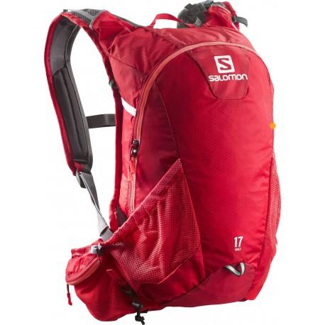 Salomon Agile 2 17 bright red 380028 běžecký batoh