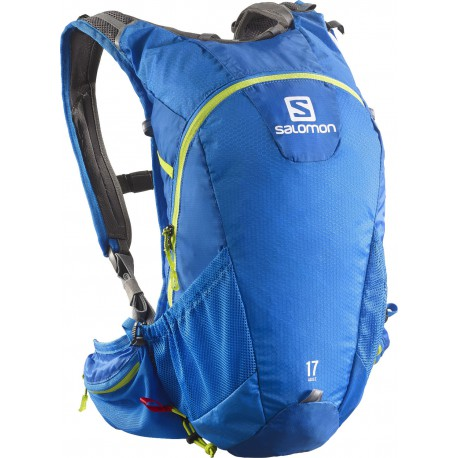 Salomon Agile 2 17 union blue/gecko green 373762 běžecký batoh