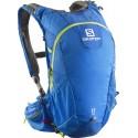 Salomon Agile 2 17l union blue/gecko green 373762 běžecký batoh