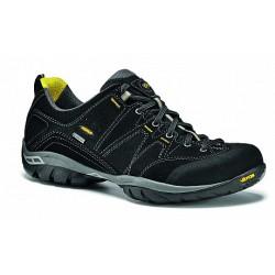 Asolo Agent GV MM GTX black pánské nízké nepromokavé kožené boty