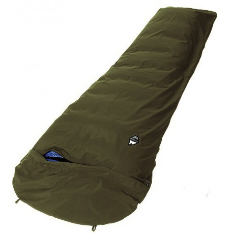 High Point Dry Cover dark khaki bivakovací pytel/žďárák BlocVent 2L SDWR