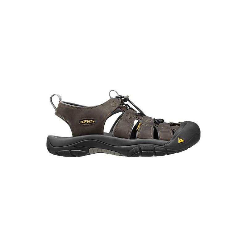 ... Keen Newport M neutral gray gargoyle pánské kožené outdoorové sandály  (3) ... 4f69b96a79