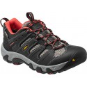 Keen Koven Low WP W raven/hot coral dámské nízké nepromokavé boty