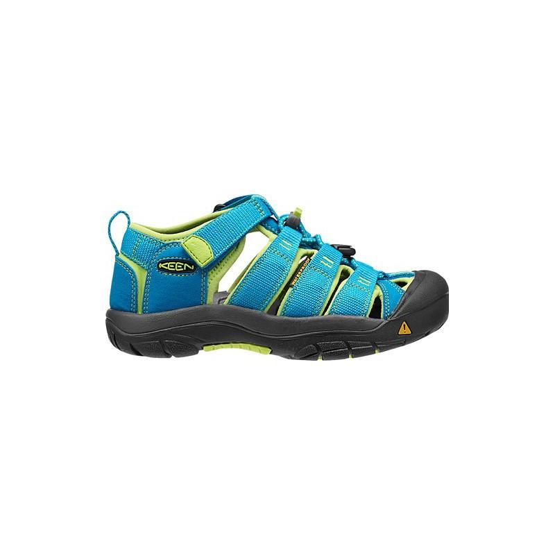 ... Keen Newport H2 Jr hawaiian blue green glow dětské outdoorové sandály i  do vody ... 16185e26d5a
