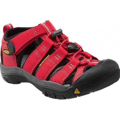 Keen Newport H2 K ribbon red/gargoyle dětské outdoorové sandály i do vody