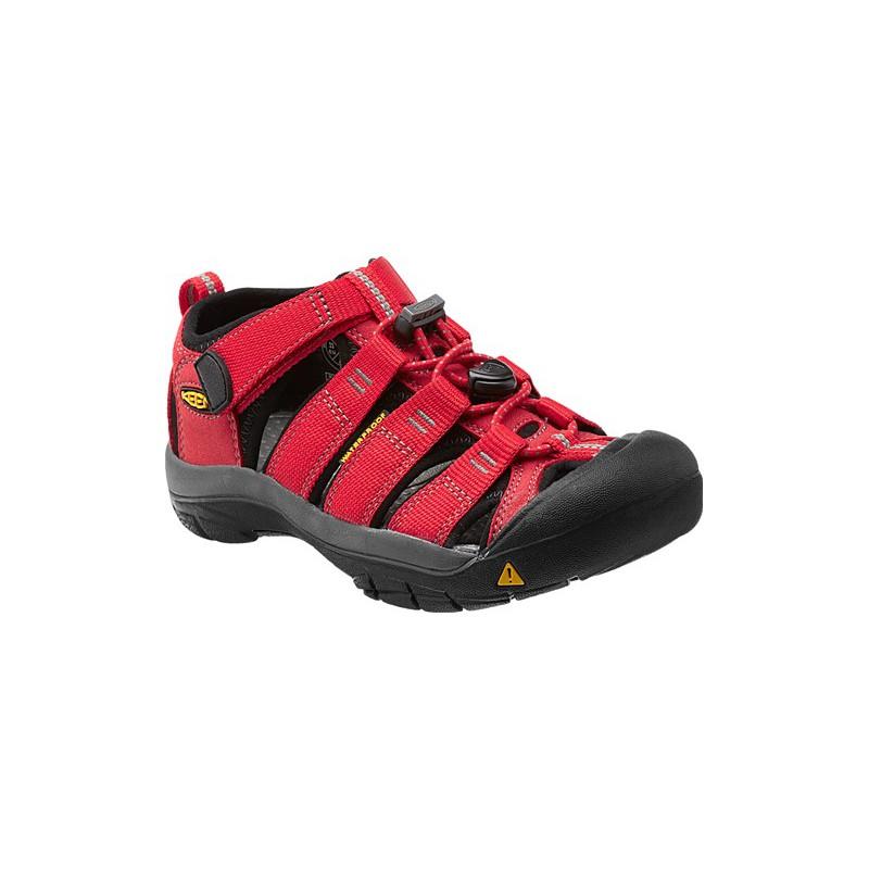 Keen Newport H2 Jr ribbon red gargoyle dětské outdoorové sandály i do vody 6d489c5542e