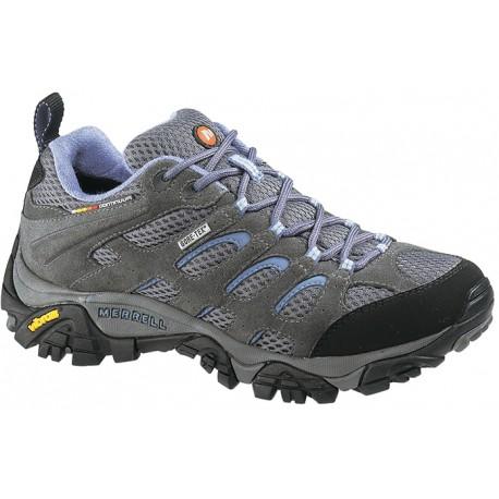 Merrell Moab GTX W grey/periwinkle 87110 dámské nízké nepromokavé boty