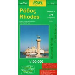 ORAMA 330 Rhodes/Rhodos 1:100 000 automapa