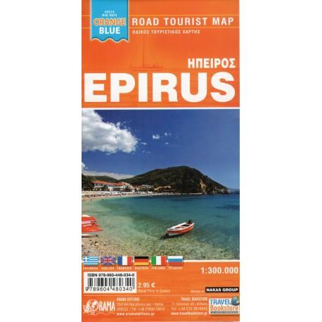 ORAMA Epirus 1:300 000 automapa