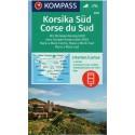 Kompass 2251 Korsika jih 1:50 000 turistická mapa